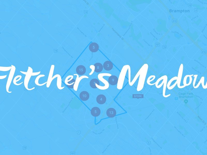 Fletcher's Meadow Neighbourhood Properties for Sale