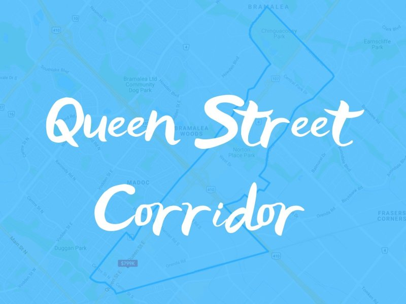 Queen Street Corridor Neighbourhood Properties for Sale