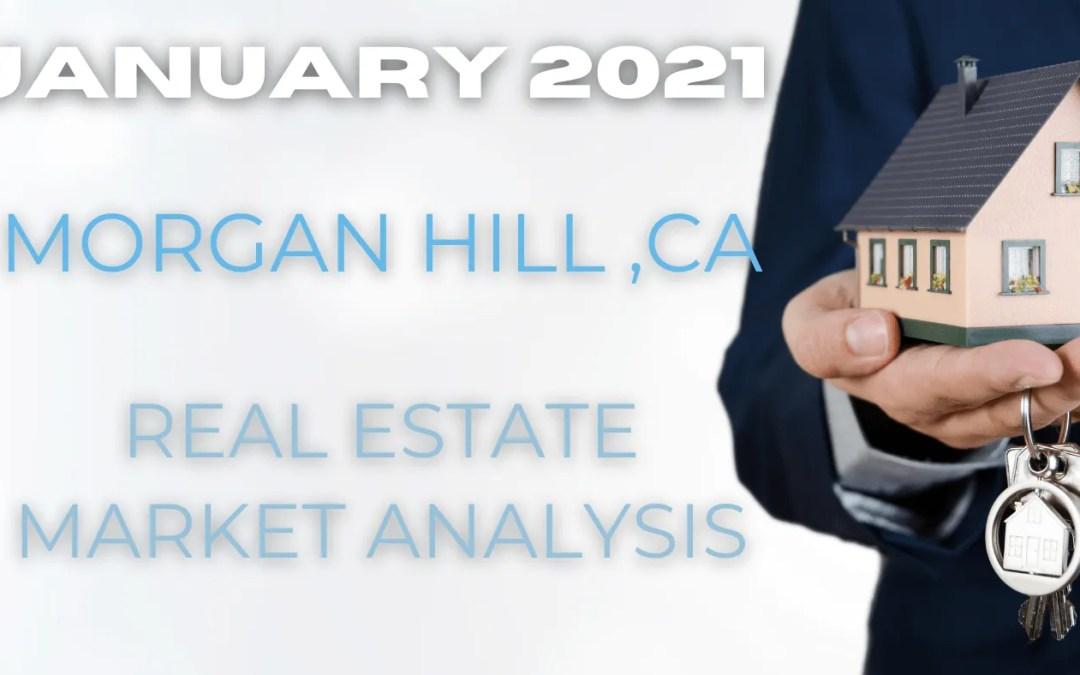 January 2021 Morgan Hill, CA Real Estate Market Performance
