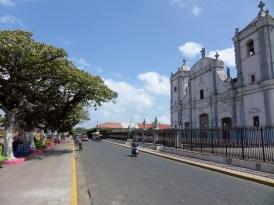 Rivas central street