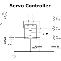 Servo Motor Wiring Diagram Steam Tables With Mollier In Si Units Control Schematic Get Free Image About