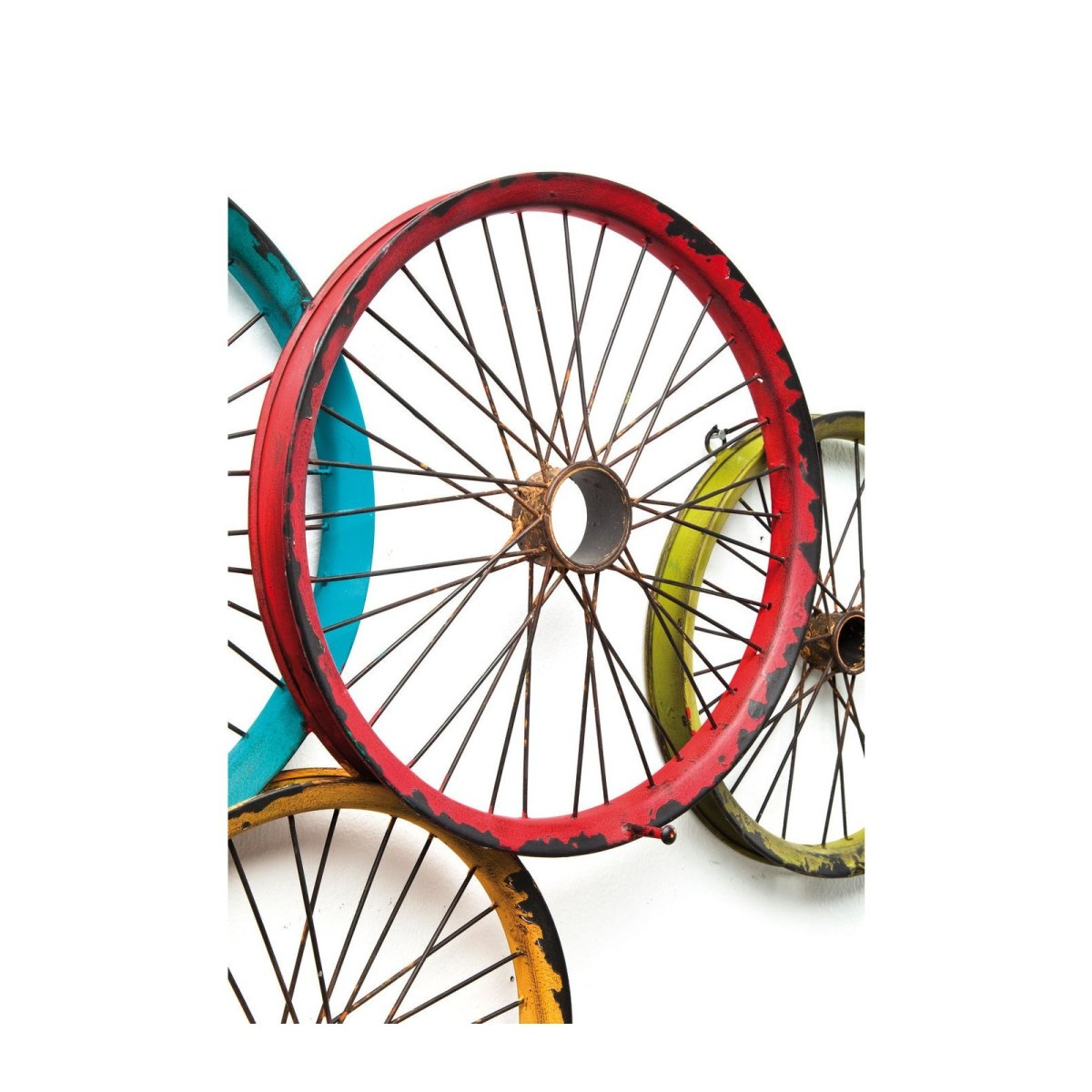 Soldes Kare Design Maison > Petit rangement > Porte-manteau, patère Portemanteau mural Wagon Wheels Kare Design