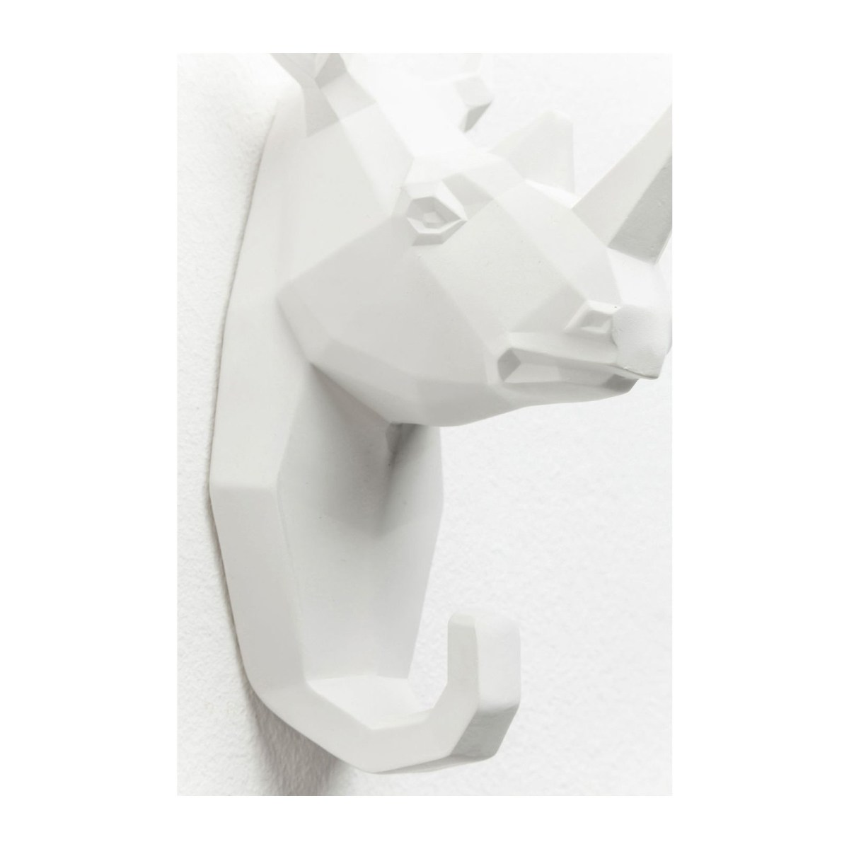 Soldes Kare Design Maison > Petit rangement > Porte-manteau, patère Portemanteau Rhino blanc Kare Design