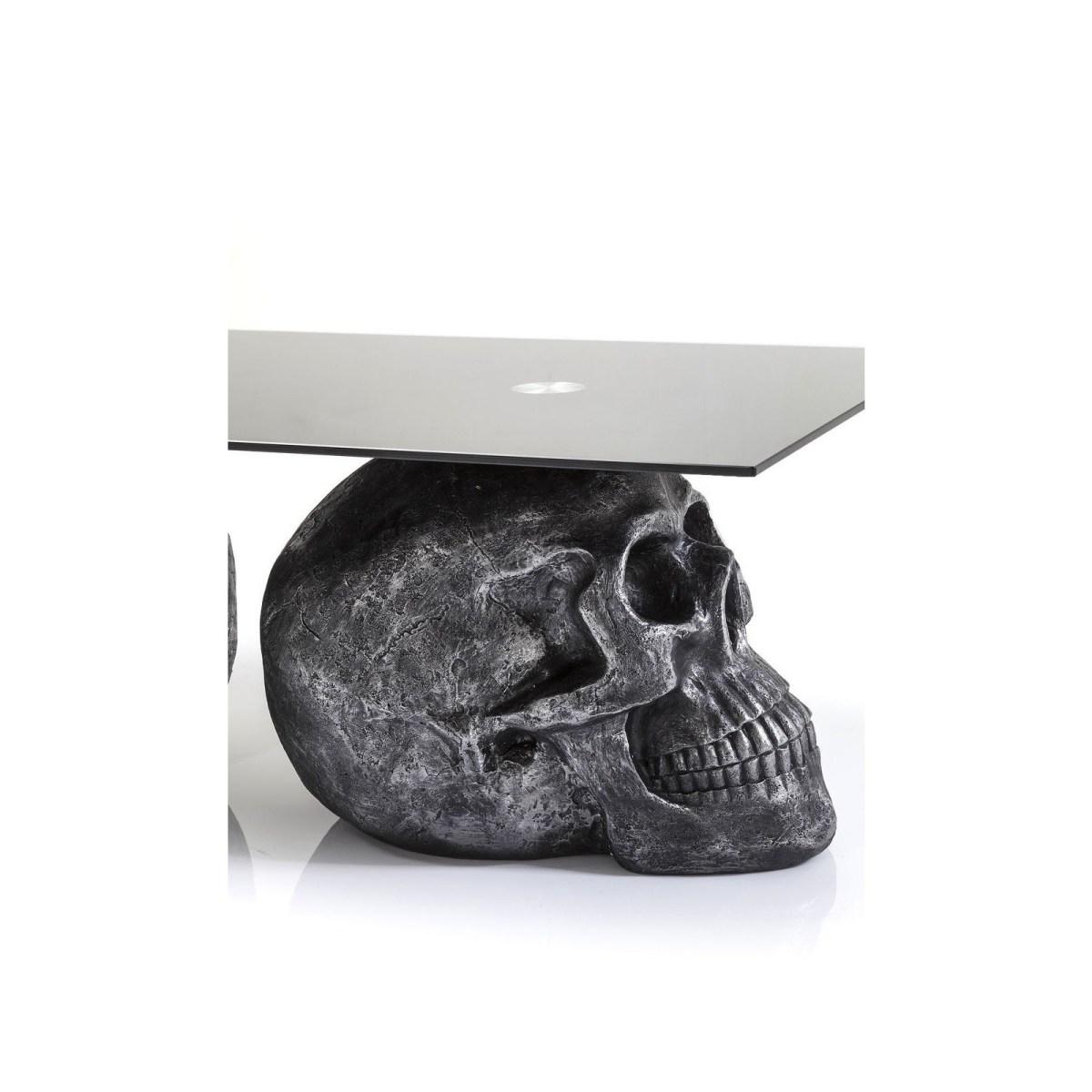Soldes Kare Design Meuble > Table Basse Table basse Skull Rockstar by Geiss 120x60 cm Kare Design
