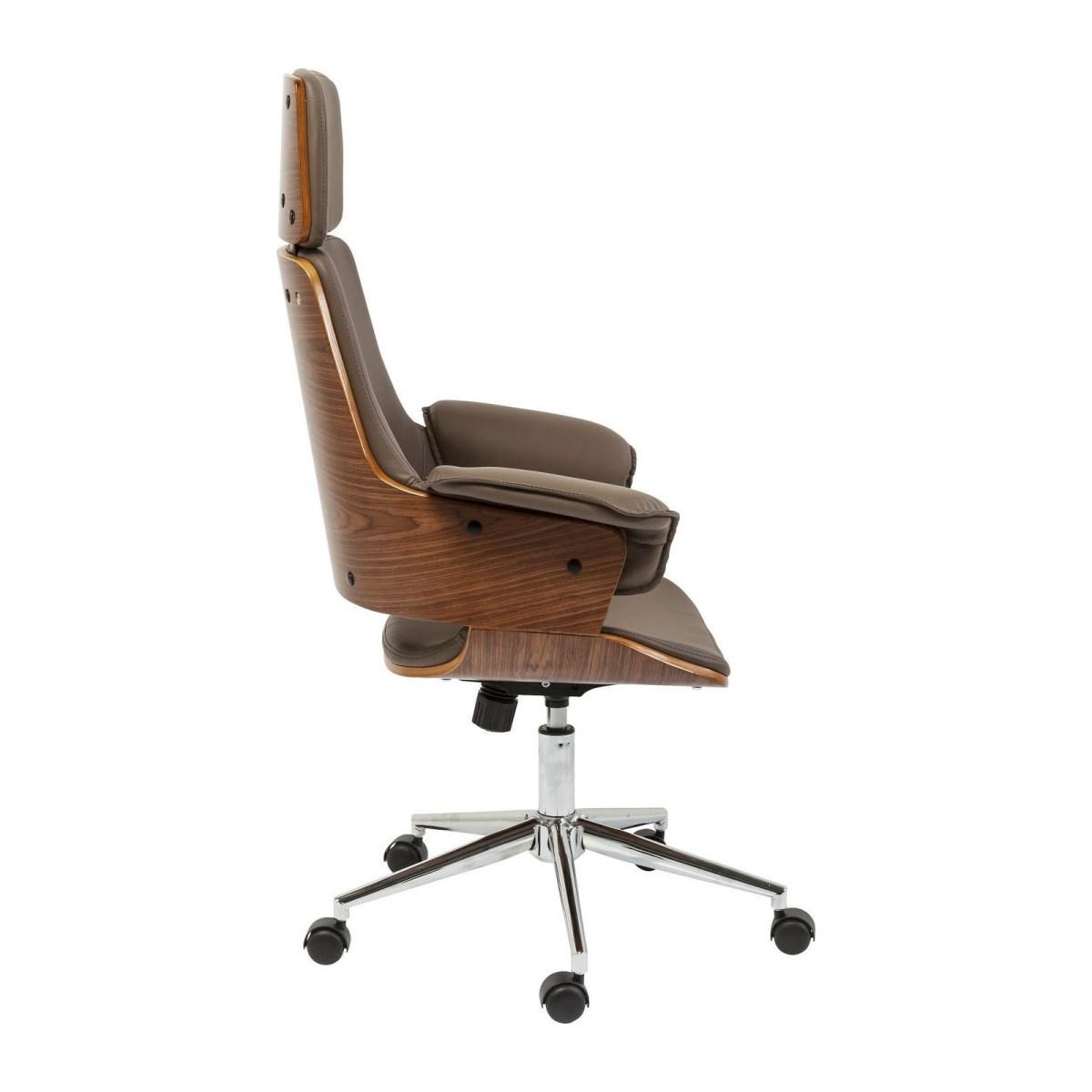 Soldes Kare Design Fournitures de bureau > Equipements de bureau > Sièges et fauteuils de bureau Chaise de bureau Flow Kare Design