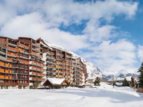Appartement 2 pièces cabine 6 personnes RESIDENCE PIERRE ET VACANCES LA DAILLE Val d'Isère La Daille Alpes du Nord