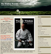 The Wisdom Warrior Website