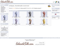 Colorado Silk Shopping Cart