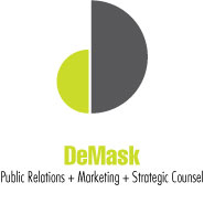 Logo Design Demask Marketing & Public Relations Services