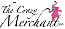 Logo Design The Crazy Merchant, LLC Largest Silver Jewelry Supplier in Colorado
