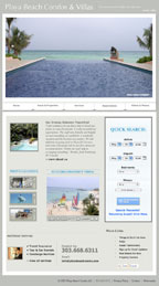 Playa Beach Condos Website reDesign Services