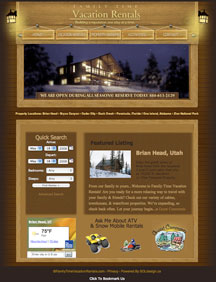 Family Time Vacation Rentals Website