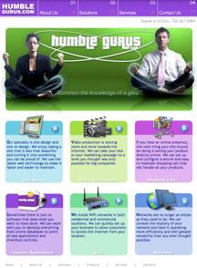 Humble Gurus IT and Desktop Support Website Design Services