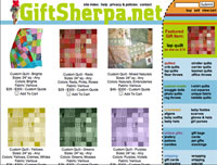 Gift Sherpa Website Design Services, Online Shopping Cart