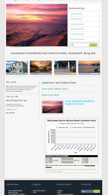 Select Sales, Florida Real Estate Website reDesign, SEO, SEM