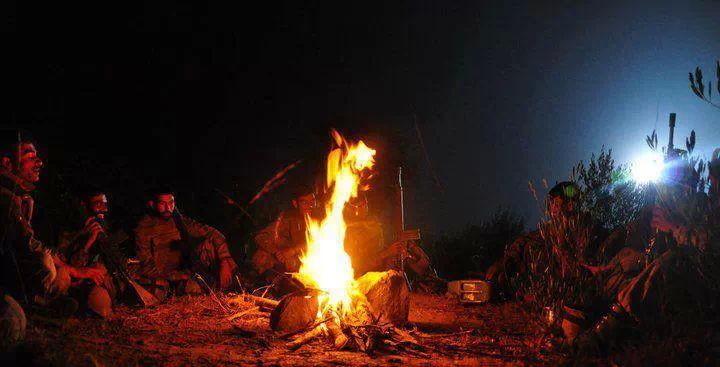 ssg night camp fire