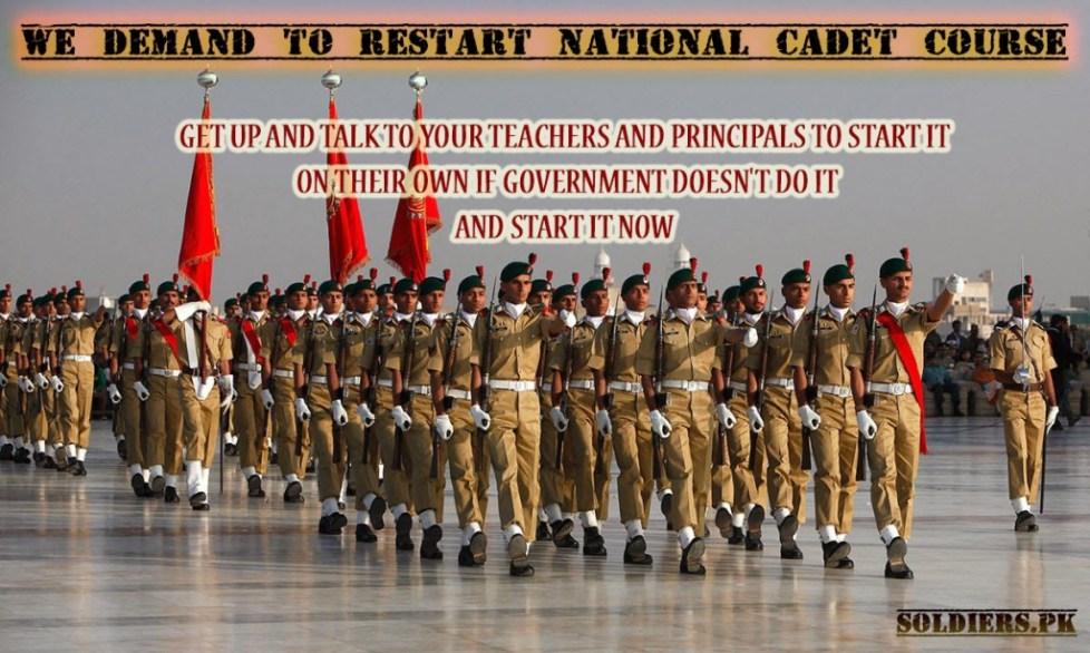 restart ncc in pakistan