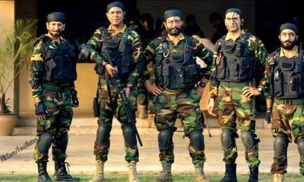 5 brave and dashing commando tigers!
