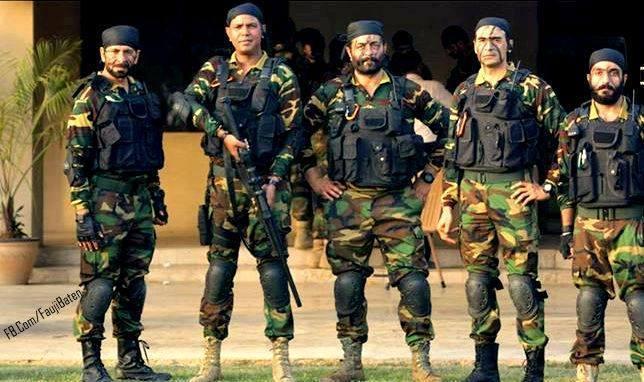 five commandoes