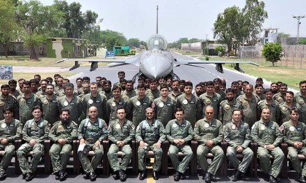 Chief of Air Marshal in Sargodha Air Base