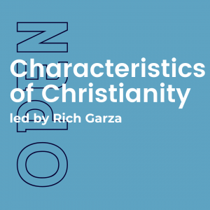 Characteristics of Christianity bible study