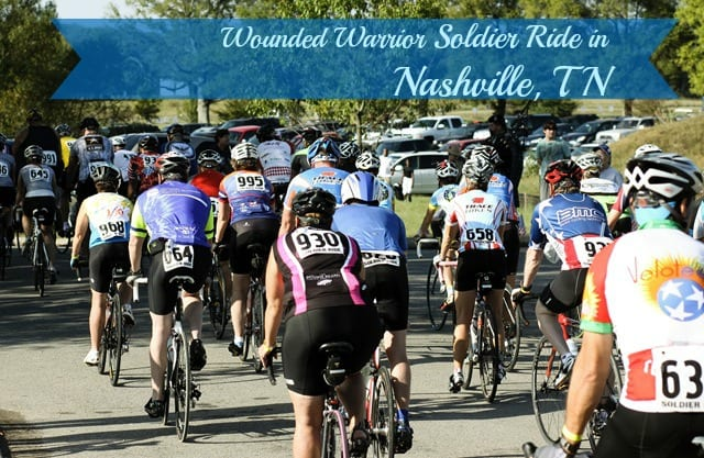 Wounded Warrior Soldier Ride in Nashville, TN