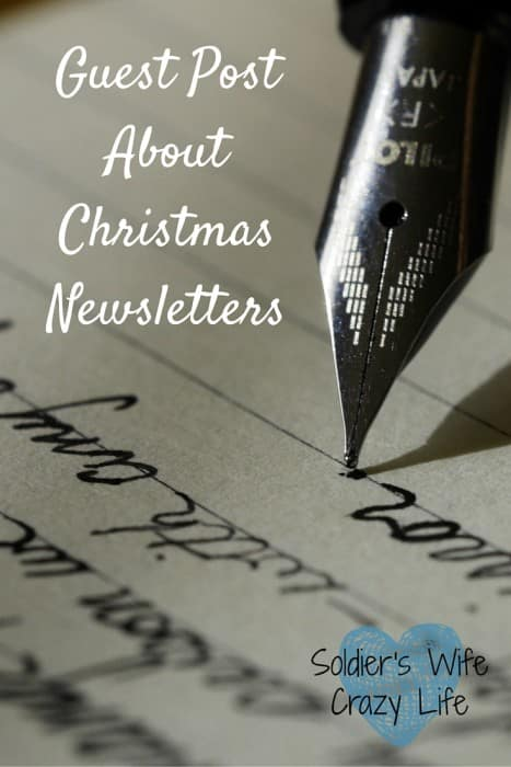 Christmas Newsletters