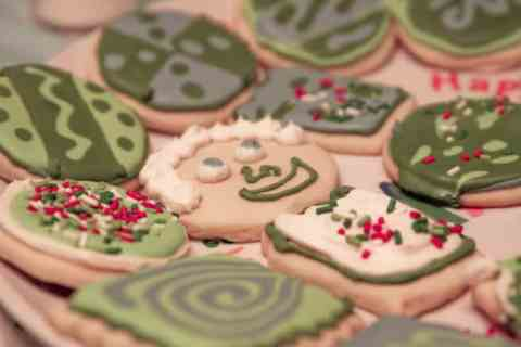 Royal Icing Christmas Cookies