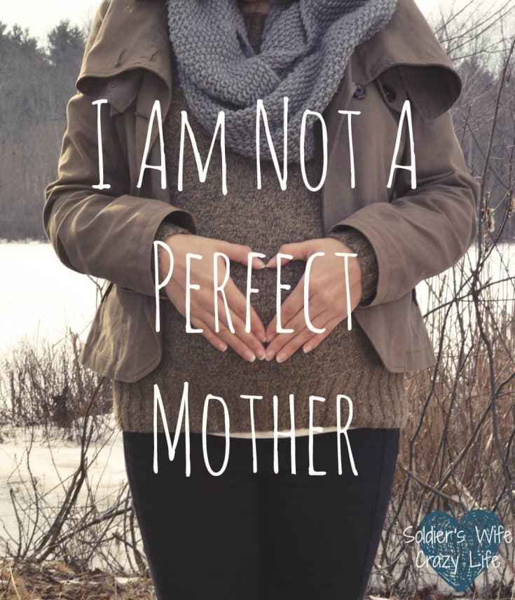 I Am Not A Perfect Mother