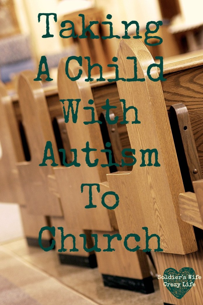 Taking A Child With Autism To Church