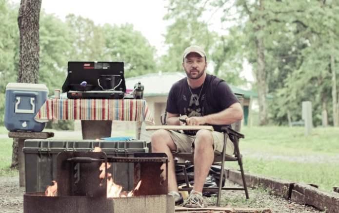 Camping at Piney Campground