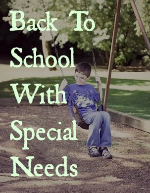 Back To School With Special Needs