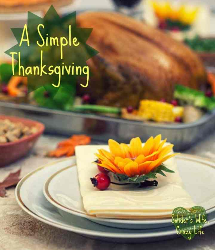 A Simple Thanksgiving