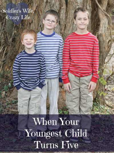 When Your Youngest Child Turns Five