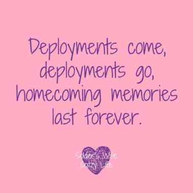 End Of a Deployment, Military Homecoming