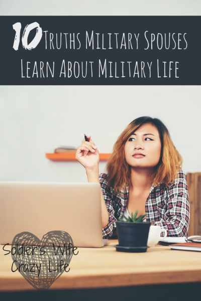 10 Truths Military Spouses Learn About Military Life
