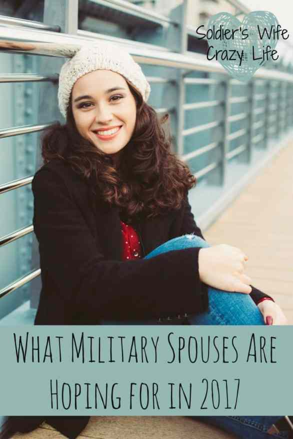 What Military Spouses Are Hoping for in 2017