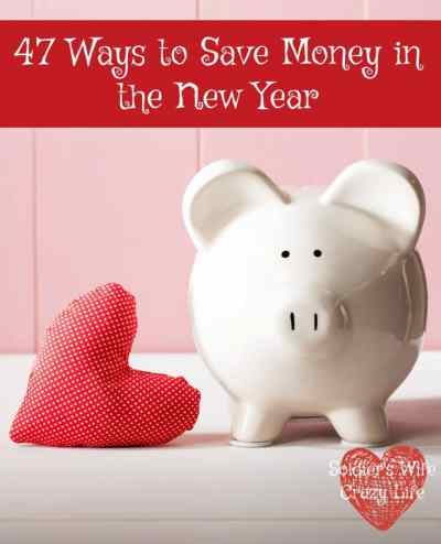 47 Ways to Save Money in the New Year