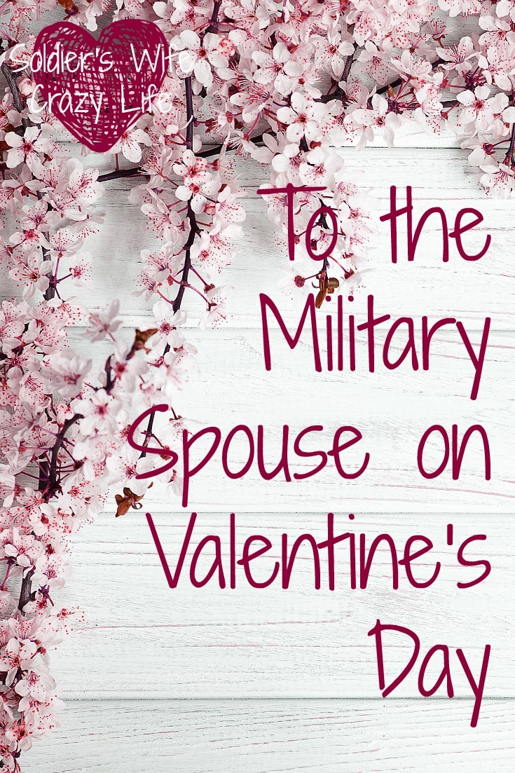 Military Spouses on Valentine's Day