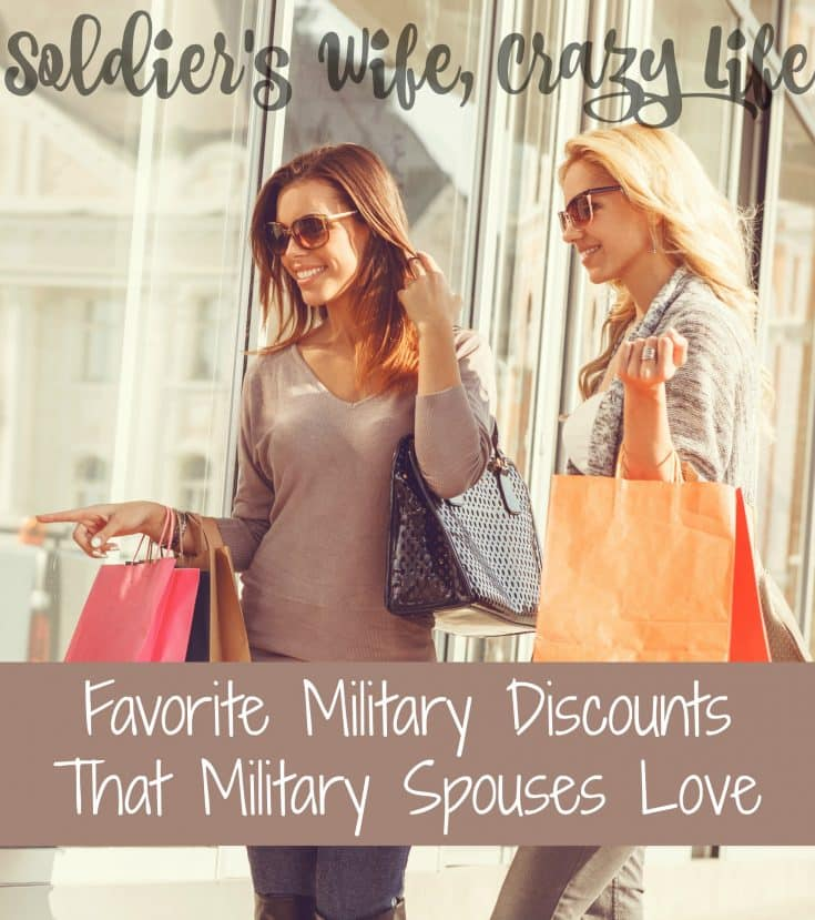 Favorite Military Discounts That Military Spouses Love