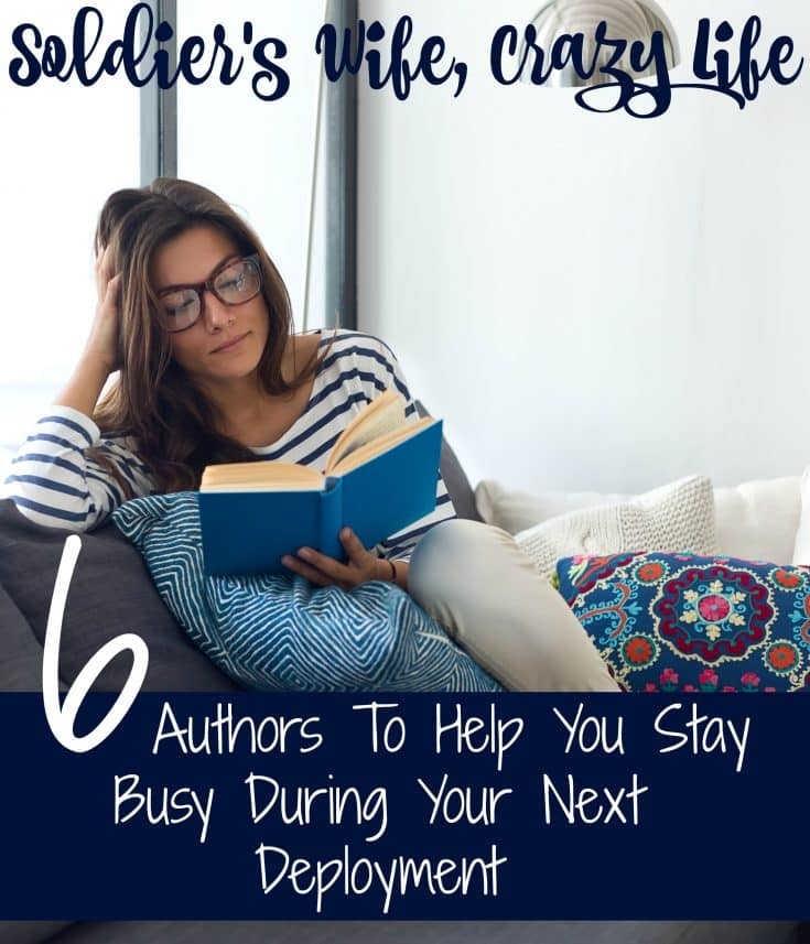 6 Authors To Help You Stay Busy During Your Next Deployment