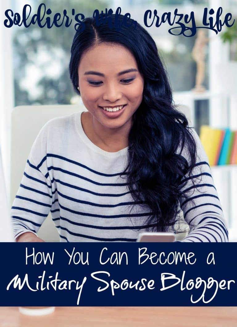 How You Can Become a Military Spouse Blogger