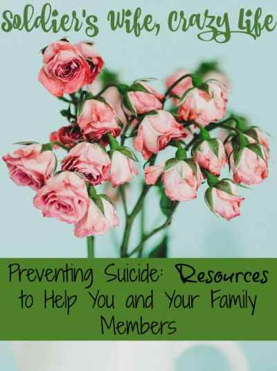 Preventing Suicide: Resources to Help You and Your Family Members