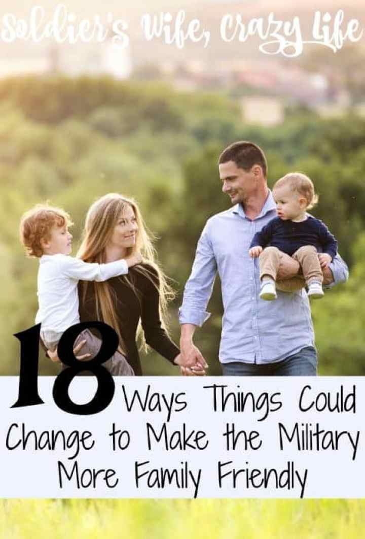18 Ways Things Could Change to Make the Military More Family Friendly
