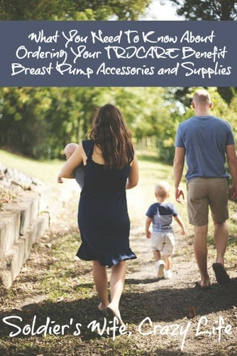 What You Need To Know About Ordering Your TRICARE Benefit Breast Pump Accessories and Supplies