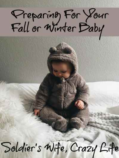 Preparing For Your Fall or Winter Baby