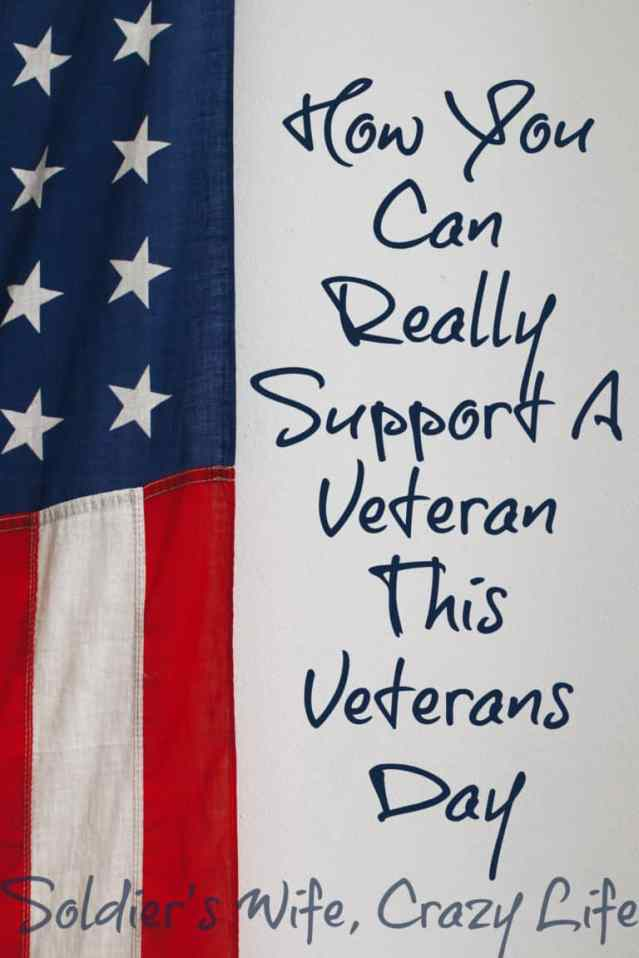 How You Can Really Support A Veteran This Veterans Day