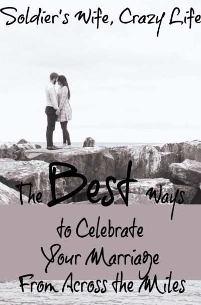 The Best Ways to Celebrate Your Marriage From Across the Miles