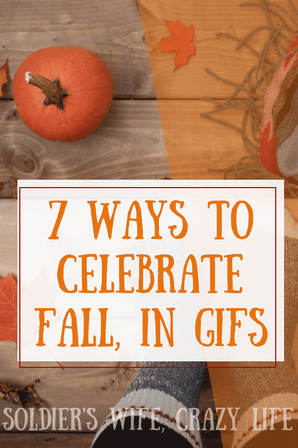 7 Ways to Celebrate Fall, in GIFs