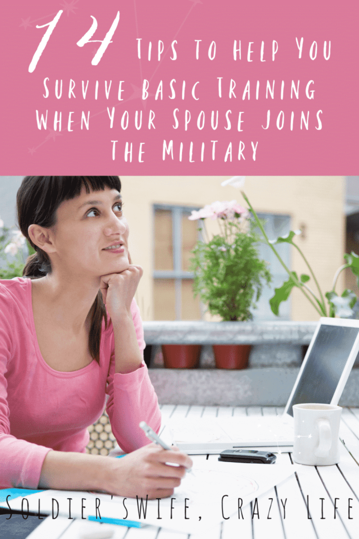 14 Tips to Help You Survive Basic Training When Your Spouse Joins the Military